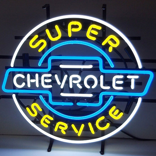 "Super Chevorlet Service 24"" x 22"""