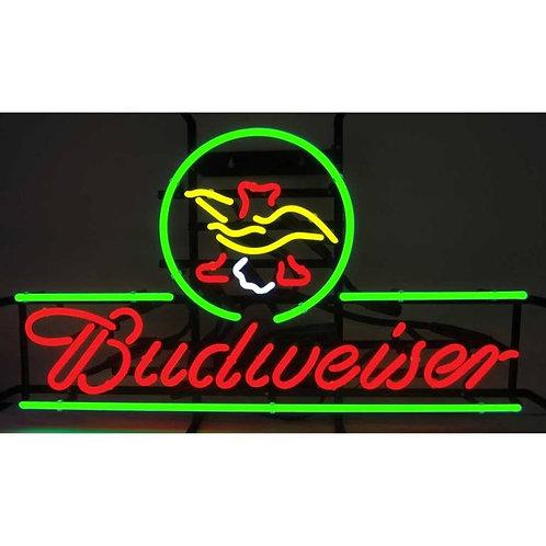 "Budweiser Eagle 16"" x 28"""
