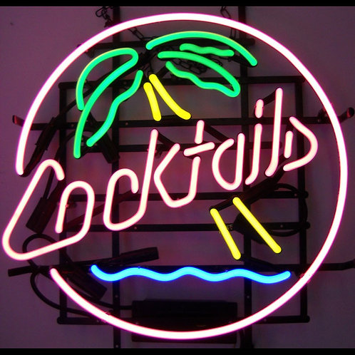 """Cocktails and Palm Tree 22"""""""