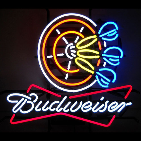 """Budweiser Darts 24"""" x 22"""""""