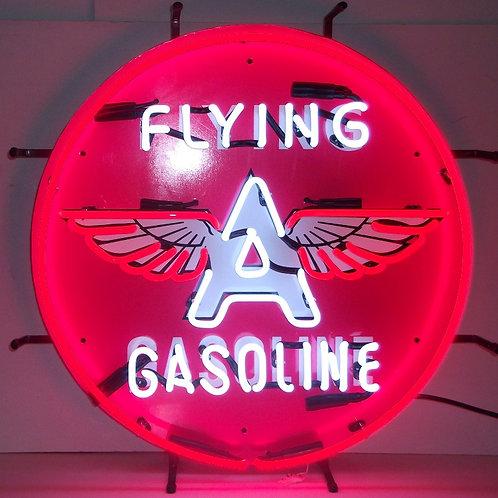 "Flying A Gasoline 24"""