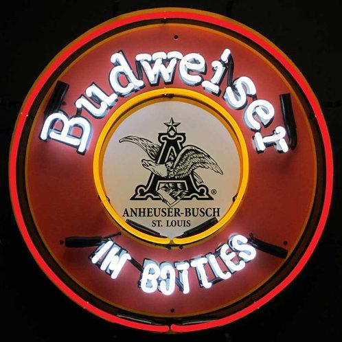 """Budweiser In Bottles 24"""""""