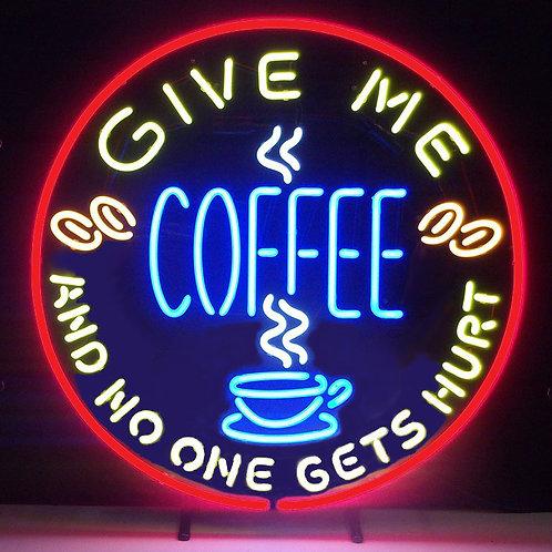 "Coffee 24"" Neon Sign"
