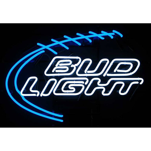 "Bud Light Foot Ball 28"" x 20"""