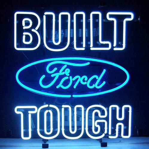 "Built Ford Tough 25"" x 26"""