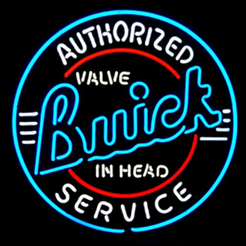 "GM Buick Service 24"" Neon Sign"