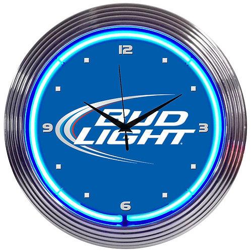 Bud Light Neon Clock