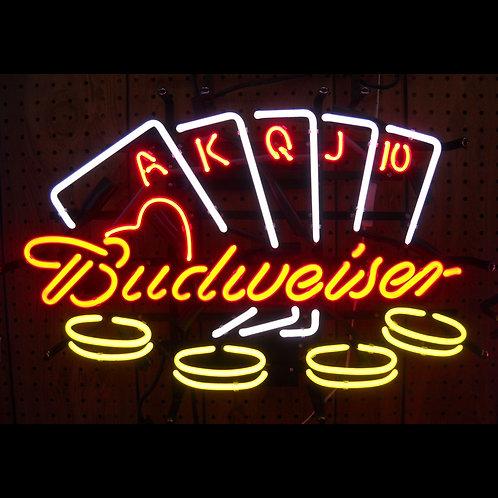 """Budweiser Poker 20"""" x 24"""""""