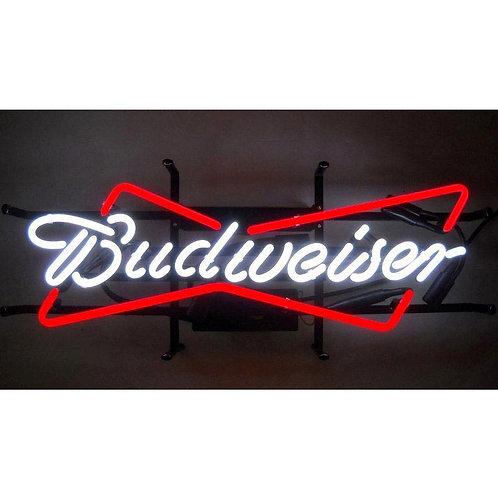 "Budweiser Bowtie 28"" x 9"""