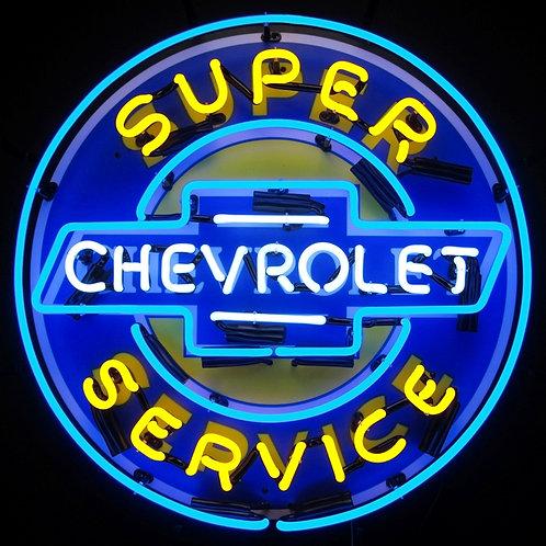 "Super Chevy Service 24"""