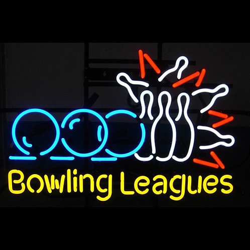 "Bowling Leagues 18"" x 26"""