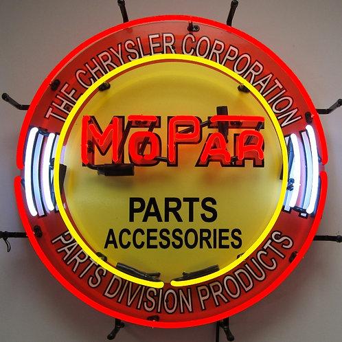 "Mopar Parts and Accessories 24"""