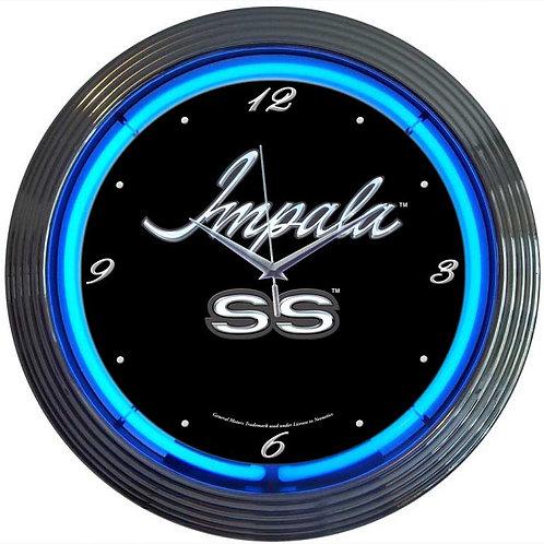 GM Impala Neon Clock