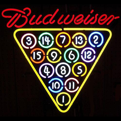 """Budweiser 15 Rack 25"""" x 21"""""""