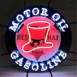 "Red Hat Motor Oil 25.5"""