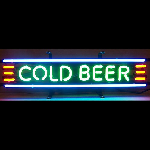 "Cold Beer 24"" x 6"""