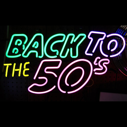 """Back To The 50's - 24"""" x 22"""""""