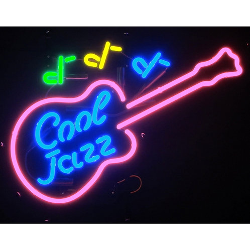 "Cool Jazz 26"" x 18"" Neon Sign"