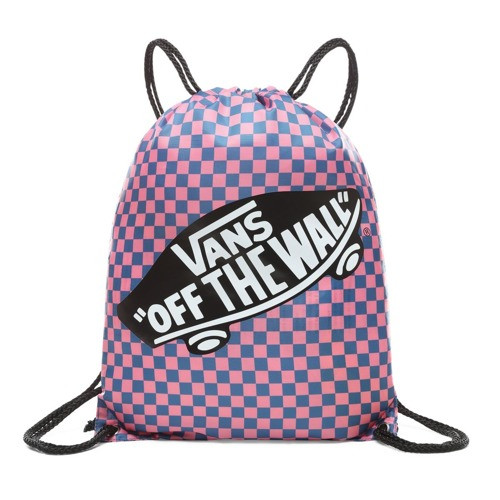 bcfe9aea71c4 VANS WM BENCHED BAG Blue Sapphire/Strawberry Pink Checkerboard