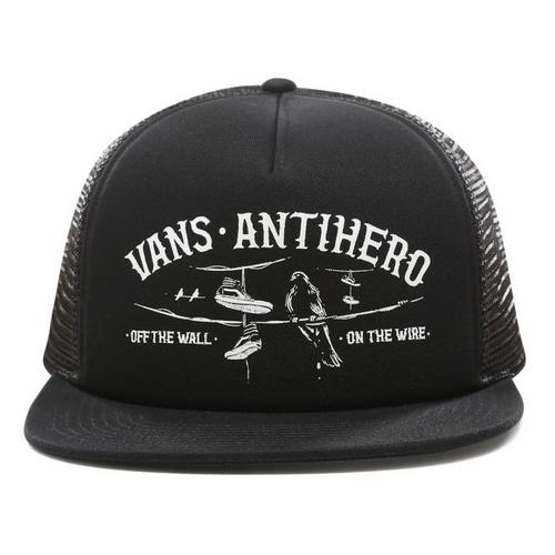 0fa3d426aed3 VANS X ANTI HERO WIRED TRUCKER HAT Black