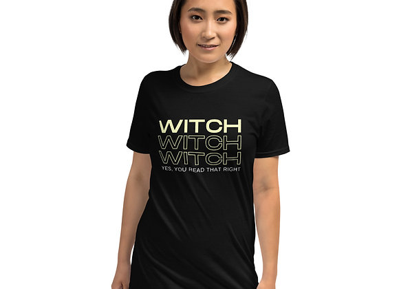 Witch Witch Witch Short-Sleeve Unisex T-Shirt