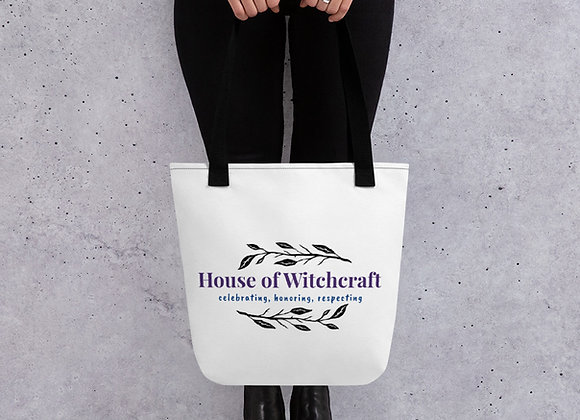 Official House of Witchcraft Tote Bag