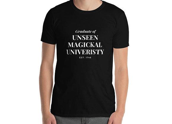 Graduate of Unseen Magickal University Short-Sleeve Unisex T-Shirt