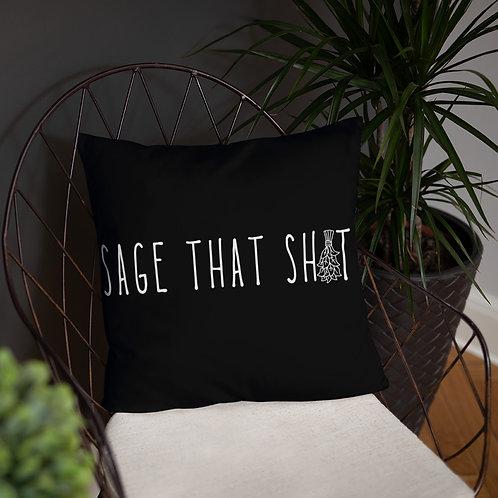 Sage that shit Basic Pillow