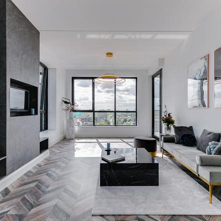 Interieurfotografie penthouse Amsterdam