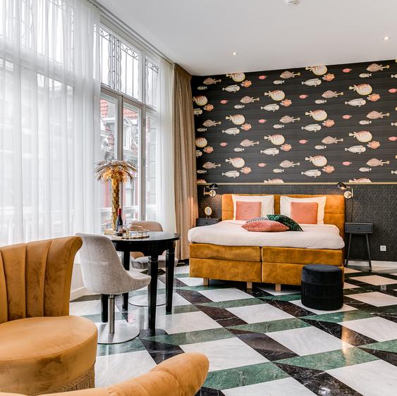 Interieurfotografie Boutiquehotel Haarlem