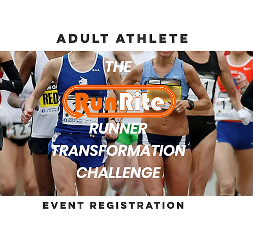 RunRite Challenge Entry-Adult Athlete