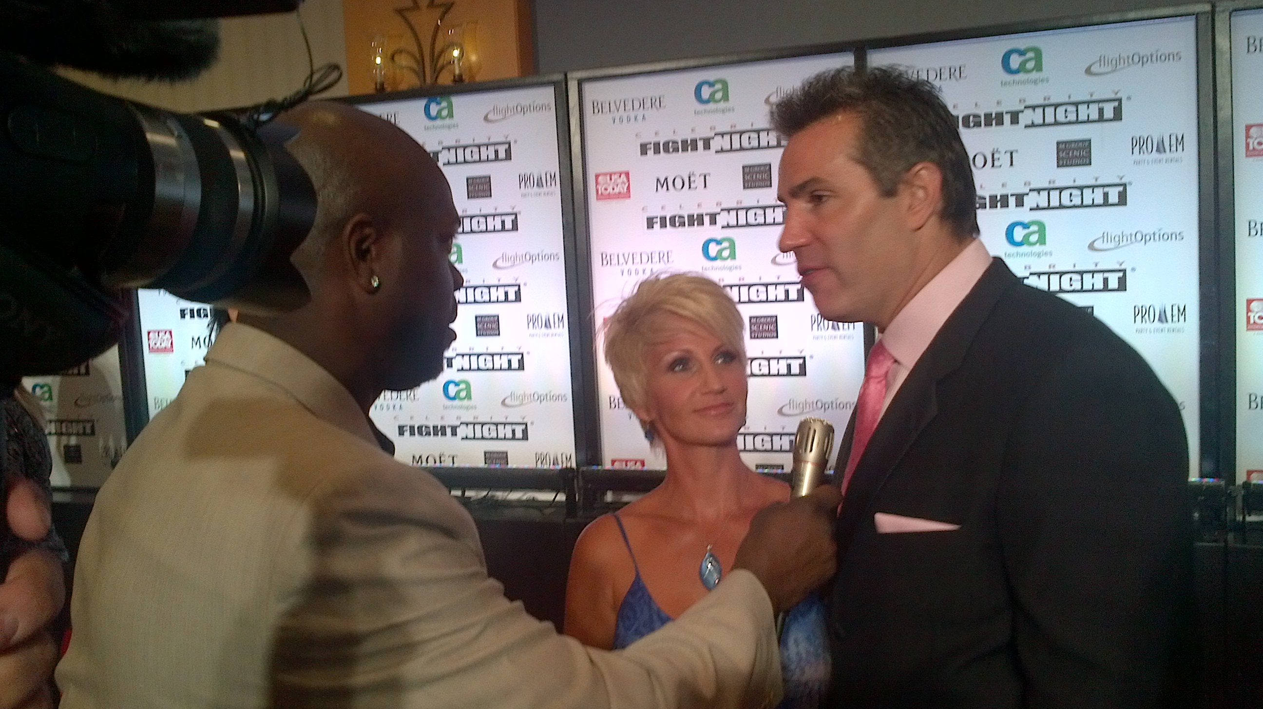 Kurt Warner and wife