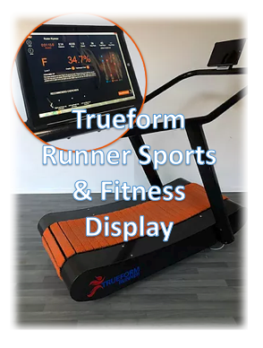 Trueform Runner Fitness and Sports Display Deposit
