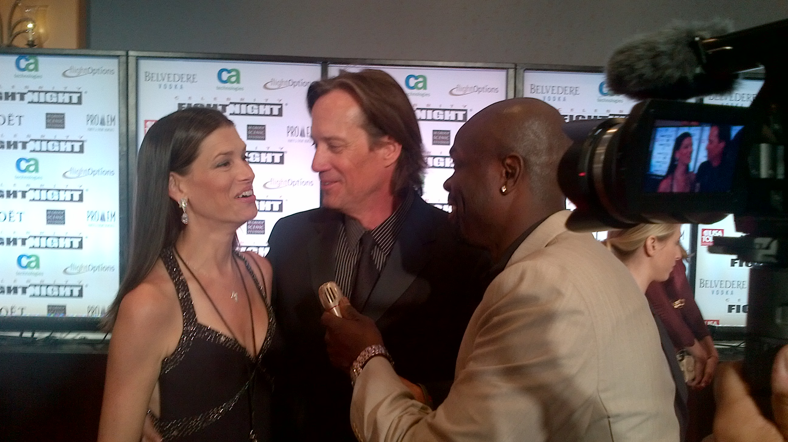 Hercules Star Kevin Sorbo & wife Sam