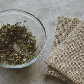 SACHÊ AROMÁTICO - Para perfumar o armário e evitar insetos na despensa de alimentos