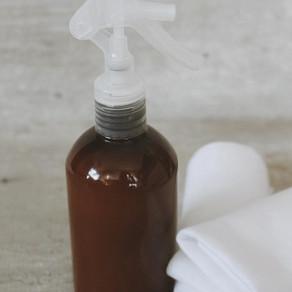 Spray de Limpeza - Para limpar cozinha, banheiro e até tapete de yoga