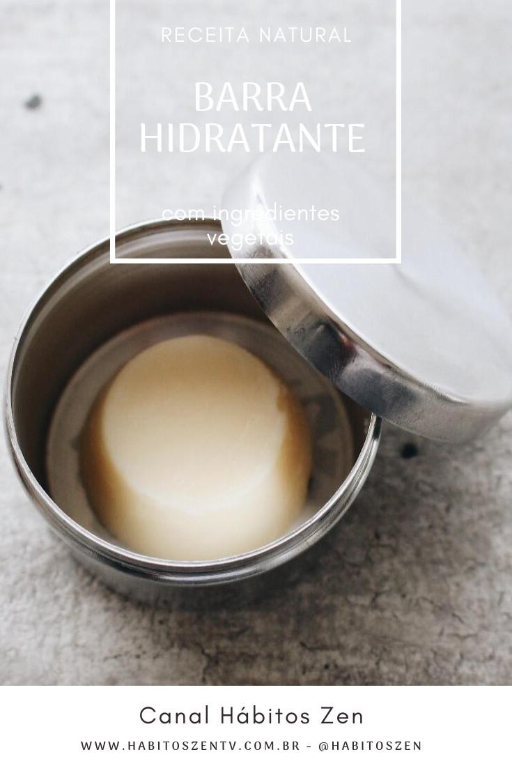 Como Fazer Creme hidratante Versão Barra - Cosméticos Naturais e Veganos