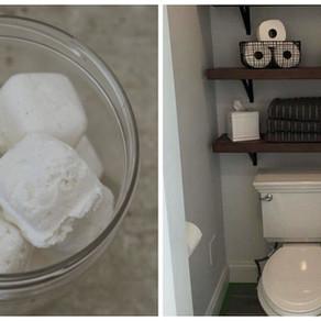 Tabletes efervescentes - Para manter o vaso sanitário limpo