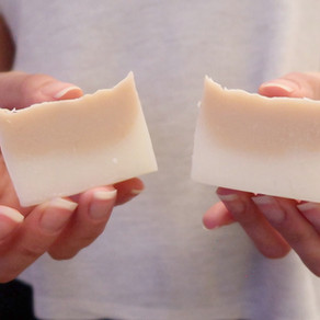 SABONETE HIDRATANTE PARA PELE SECA E RESSECADA   60% manteiga de Karité