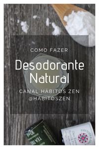 Como fazer Desodorante - Receita Caseira e Natural