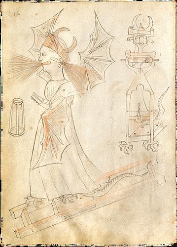 Illustration of a Mechanical Figure