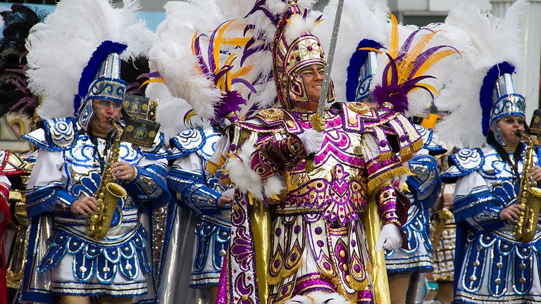 Mummers String Band Performance