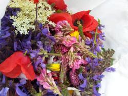Les fleurs qui serviront à préparer