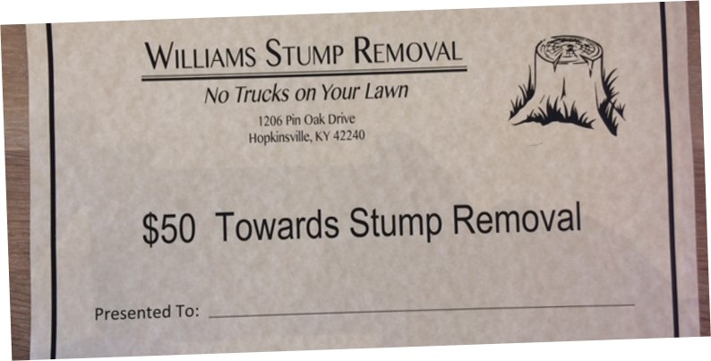 Williams Stump Removal