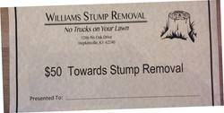 Williams Stump Removal