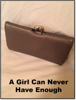 A Girl Can Never Have Enough Wallet