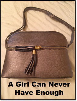 A Girl Can Never Have Enough Purse
