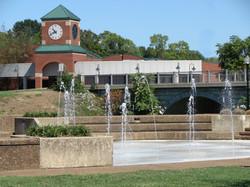 Tower Bridge Fountain