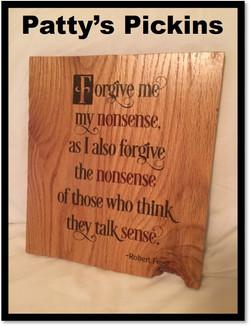 Patty's Pickins Forgive