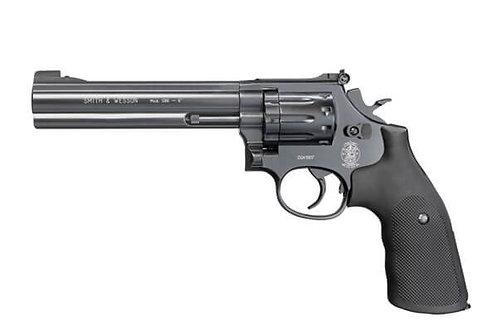"Smith & Wesson Mod. 686 - 6"" (Black & Gold Finish)"